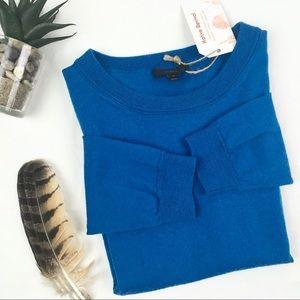 J.Crew Soft Merino Wool Turquoise Sweater